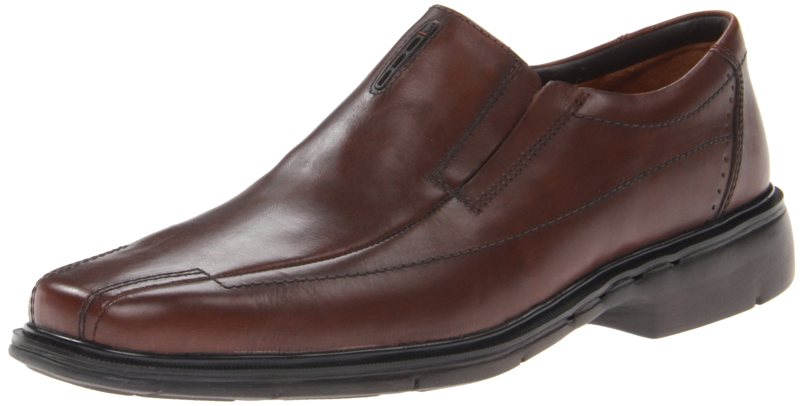 Clarks Unstructured Un.Sheridan Mens Slip On loafers Brown 9.5 by CLARKS