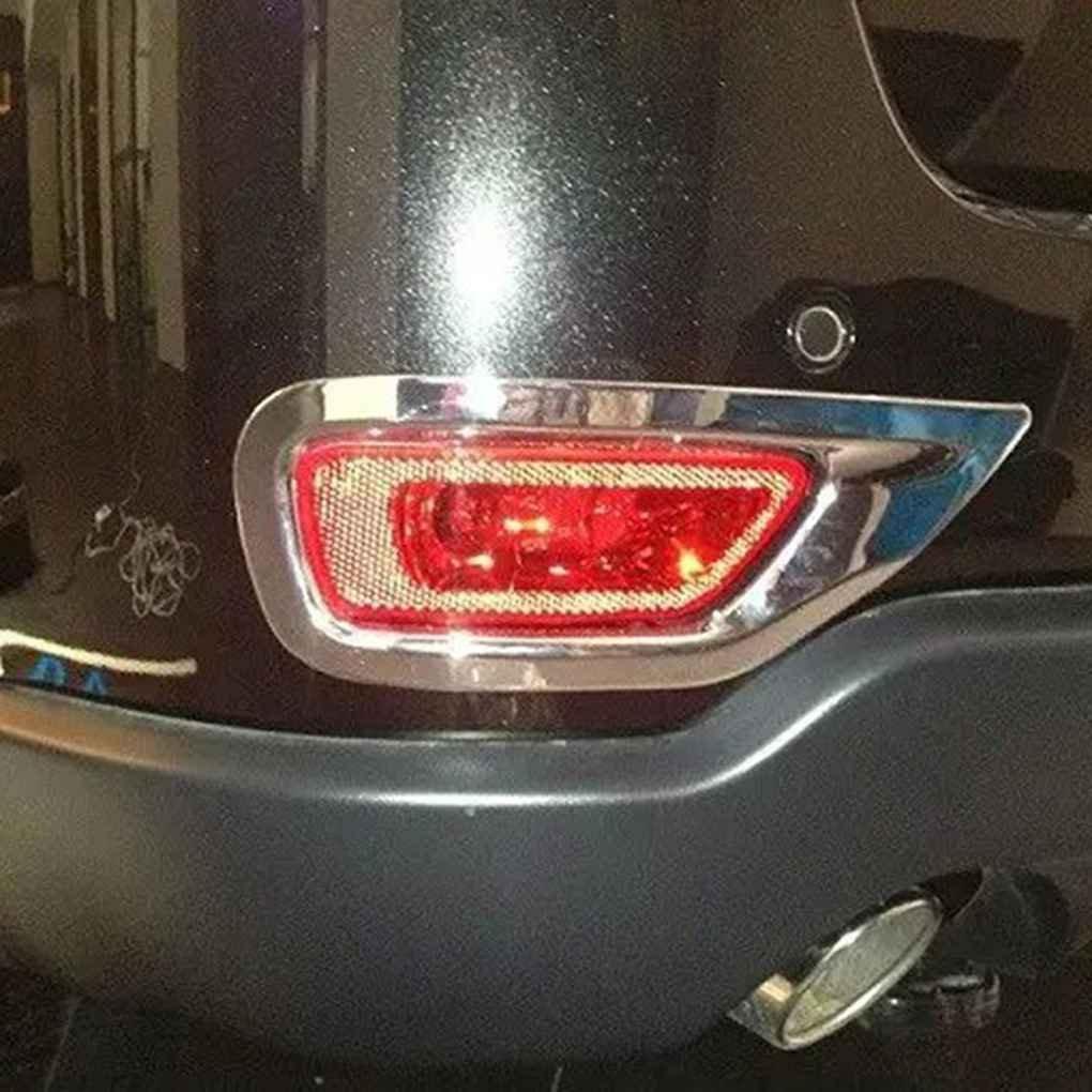 Mengonee 2PCS//Set di alta qualit/à ABS Chrome retronebbia assetta la copertura della lampada di luce per Jeep Grand Cherokee 2011-2015