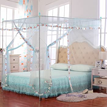 Jqwupup luxury mosquito net bed canopy 4 - Bed canopies for adults ...