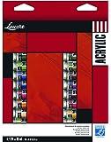 Lefranc Bourgeois Louvre Pack de 24 Tubes de Peintures acryliques 10 ml