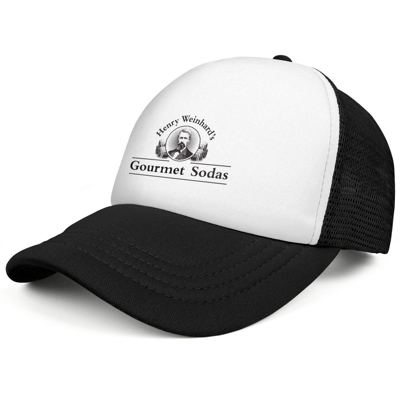 QWQD HenryWeinhard Mens Womens Mesh Trucker Cap Adjustable Snapback Dad Hat