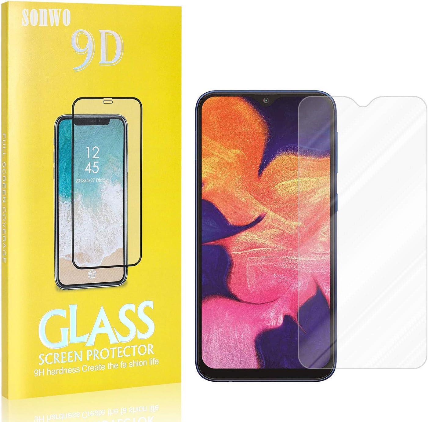 Galaxy M10 Galaxy M20 Verre Tremp/é Compatible avec Galaxy A10 Galaxy M20 4 Pi/èces SONWO Film Protection en Verre Tremp/é Glass Protecteur d/Écran pour Samsung Galaxy A10 Galaxy M10