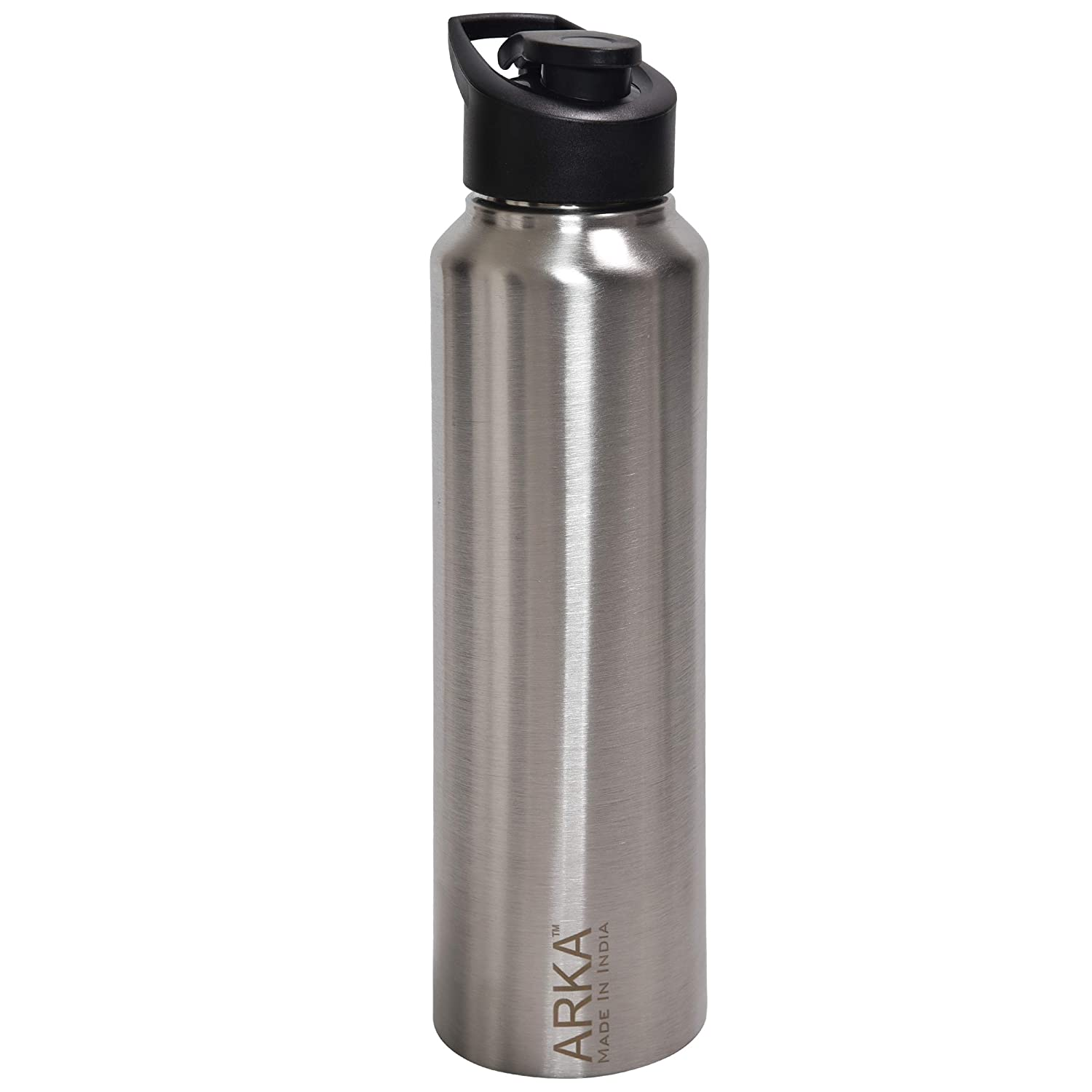 New ARKA Stainless Steel Chromo Water Bottle Thermos Crocodial 1000 ml Each New