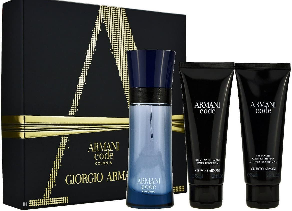 Armani - Estuche de regalo eau de toilette code giorgio: Amazon.es: Belleza
