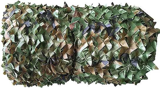 Red de camuflaje Red de camuflaje de estilo militar Adecuado para acampar oculto tienda de campaña camuflaje sombrilla protector solar juego de observación de aves casa decoración de Navidad de Hallow: Amazon.es: