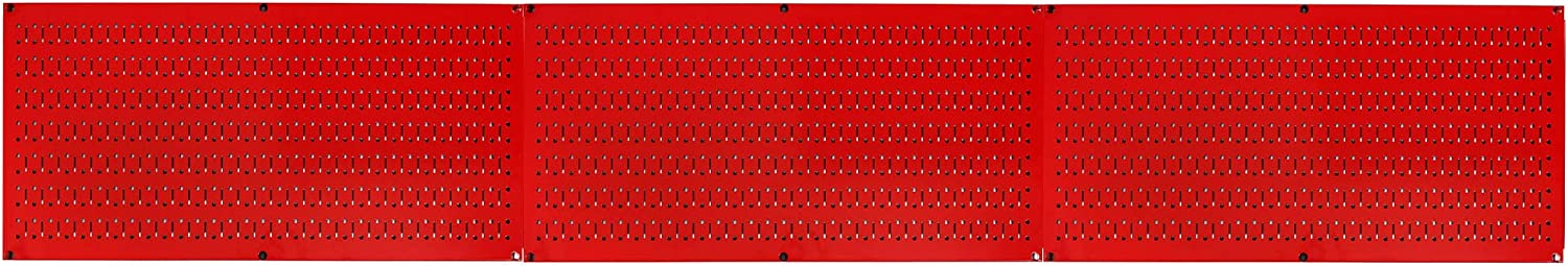 Pack of Wall Control 16-Inch Tall x 32-Inch Wide Horizontal Black Metal Pegboards for Wall Home /& Garage Tool Storage Organization Wall Control Pegboard Value Pack - Black Pegboard 3