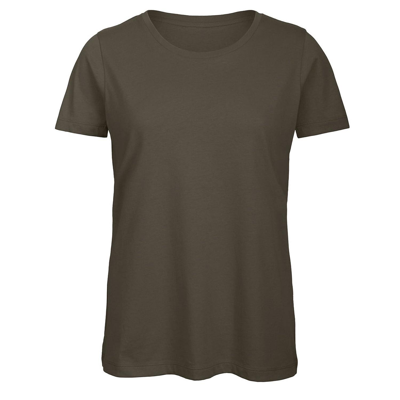 B/&C Womens//Ladies Favourite Organic Cotton Crew T-Shirt