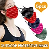 BeAcient Dust Mask, Anti-dust Mouth Mask, Unisex Cotton Face Mask Muffle Shield Spot Mask for Cycling Travel Outdoors…