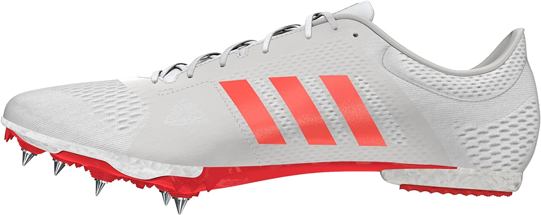 adidas Adizero MD, Zapatillas de Running Unisex Adulto, Blanco (Ftwbla/Rojsol/Plamet), 40 EU: Amazon.es: Zapatos y complementos