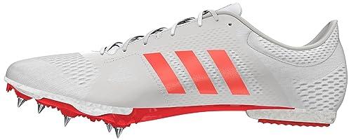 5facb49a70db adidas Unisex Adults' Adizero Middle-Distance Running Shoes, Off White  (FTWR Whitesolar