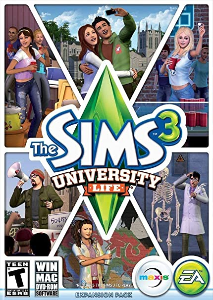 The Sims 3: University Life [Importación Inglesa]: Amazon.es: Videojuegos