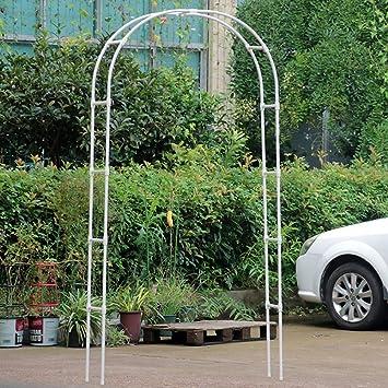 Arco Puerta Soporte De Flores Simplicidad Nórdica Marco De Escalada Para Decoracion Jardin,Negro,Big: Amazon.es: Bricolaje y herramientas