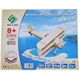 TOOGOO(R) Aereo Triplano Modello 3D in legno Sopwith costruzione kit giocattolo regalo di puzzle