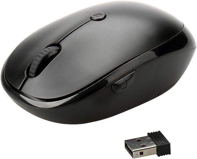 Ratón Inalámbrico,Levin Óptico Wireless Mouse Bluetooth (2.4GHz, 5 ...