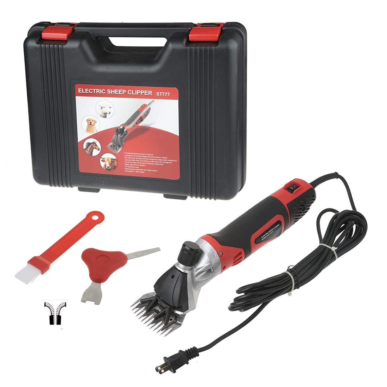 Speed Adjustable Animal Hair Cutting Clipper Machines, 10 W