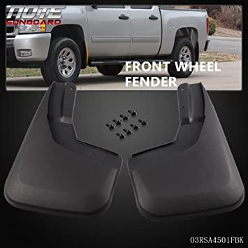 2PCS Mud Flaps Splash Guards Fender Mudguard  For 2005-2015 Tacoma Front Molded