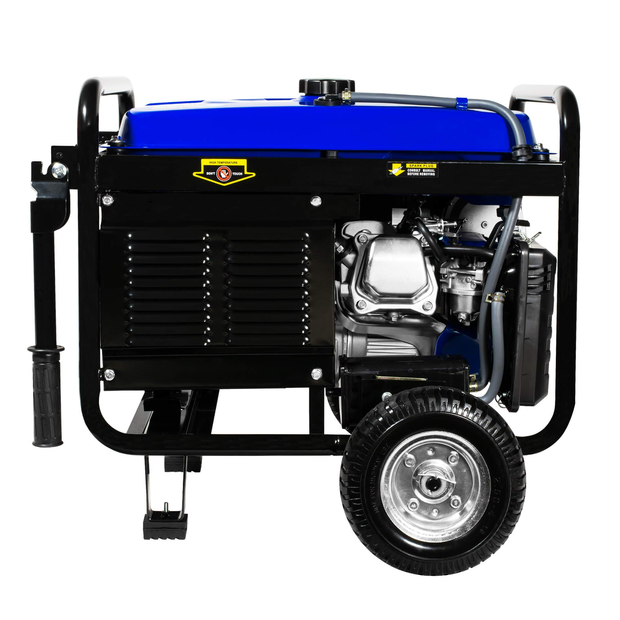 DuroMax XP5500EH 5,500 Watt 7.5 HP Portable Electric Start Dual Fuel Gas/Propane Generator by DuroMax (Image #7)