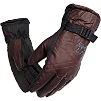 DIGITAL HOMES Snow Proof High Quality Soft Stylish Warm Winter Gloves for Riding, Cycling, Biking for Men Boy Gents - Ideal for Rough Usage