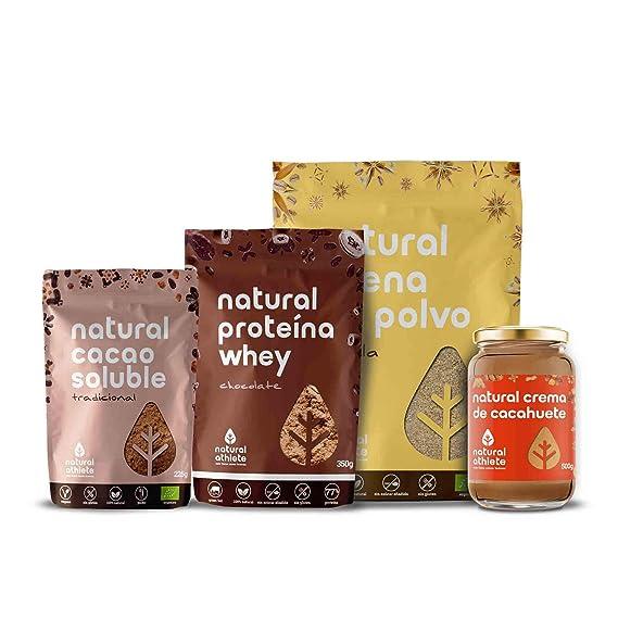 Cesta Regalo - Natural Athlete - Repostería Gourmet y Natural de nuestros productos; Orgánicos,