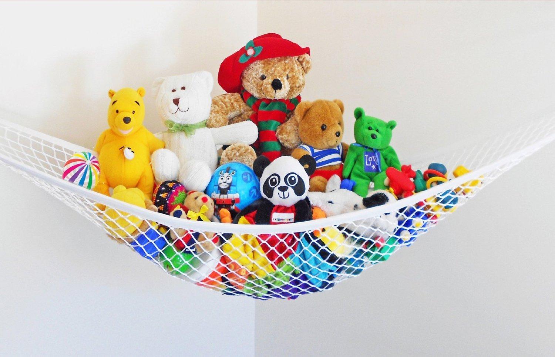 SwirlColor Large Size Toy Hängematte angefüllte Spielwaren Lagerung Net Hanging Organisatoren