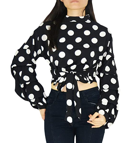 Amazon.com: YSJERA - Blusa de manga larga para mujer con ...