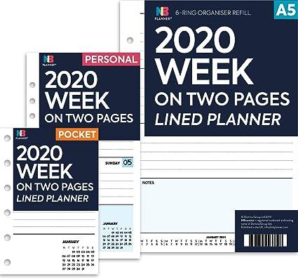 NBplanner® 2019-2020 - Agenda de 2 años (compatible con ...