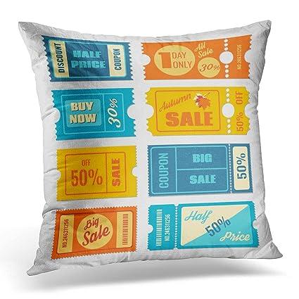 Amazon Emvency Throw Pillow Covers Flat Discount Coupon Sale Mesmerizing Decorative Pillows Cheap Prices