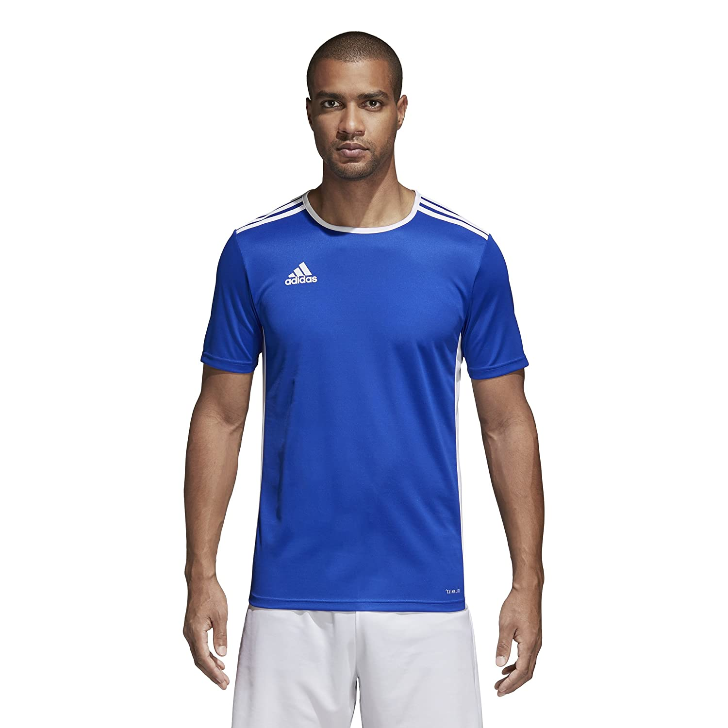 Adidas エントラーダ ジャージー メンズ サッカー 18 B0721VXS1J Medium|Bold Blue/White Bold Blue/White Medium