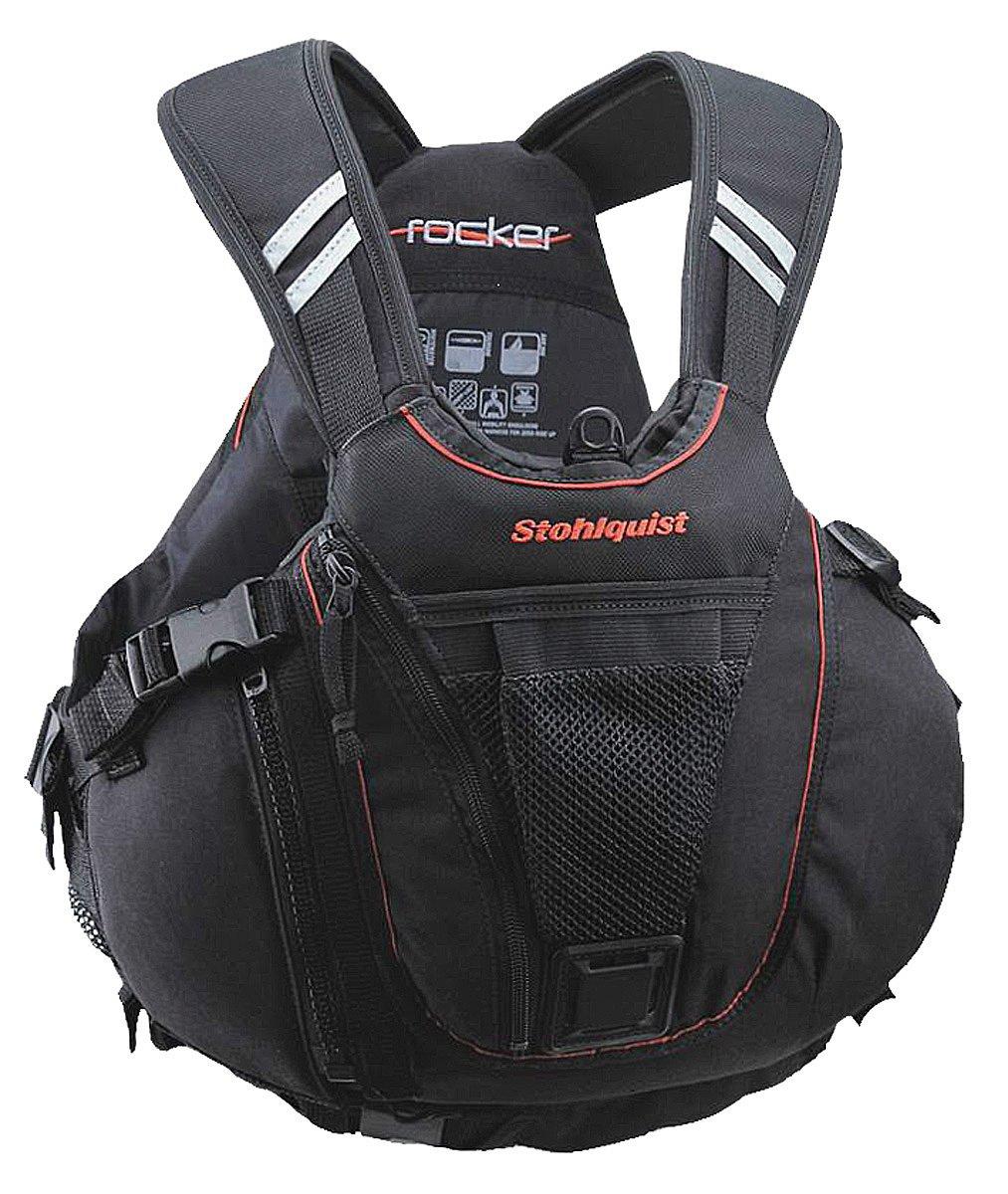 Stohlquist Rocker Personal Floatation Device, Black, XX-Large