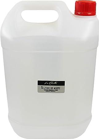 La Canilla ® - 5 Litros de Aceite para Máquinas de Coser: Amazon.es: Hogar