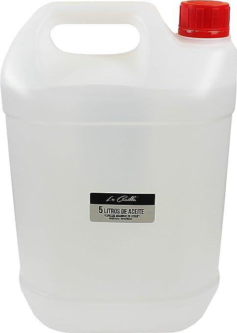 La Canilla ® - 5 Litros de Aceite para Máquinas de Coser