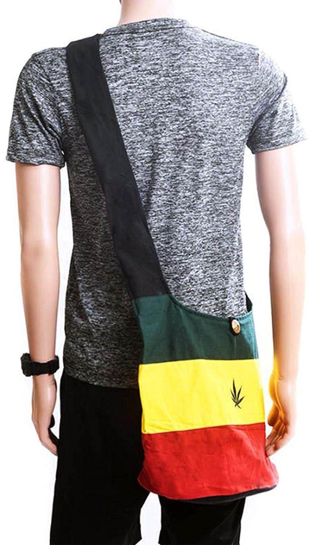 Rasta Cotton Cross body Shoulder Sling Bag