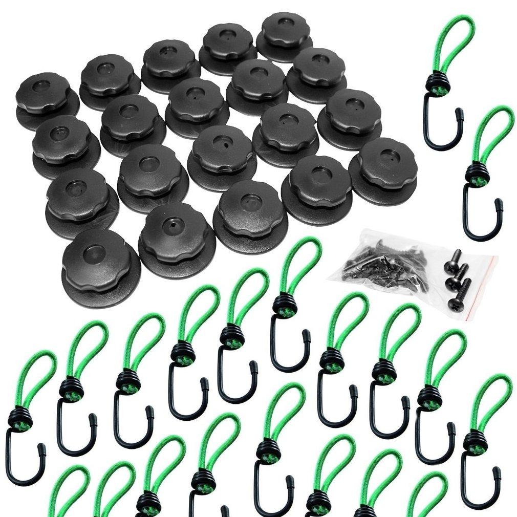 Filmer 38016 - Botones redondos para remolques (20 unidades)