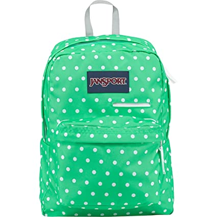 Amazon.com  JanSport Unisex Digibreak Seafoam Green White Dots ... b9af060534970