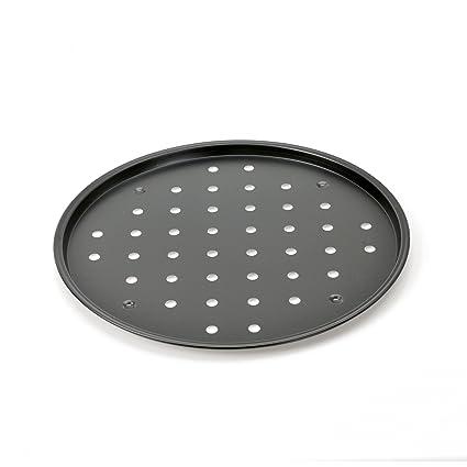 Kaiser 647678 Delicious - Bandeja para Pizzas con Base Térmica Perforada, 32 cm