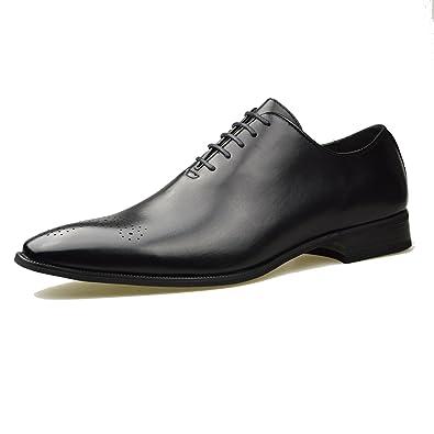Oxford schwarz Herren Leder Schuhe offiziellen Smart Größe 6, 7, 8 ... d8d3c85aec