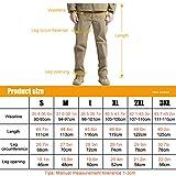 FREE SOLDIER Men's Tactical Pants Fleece Lining