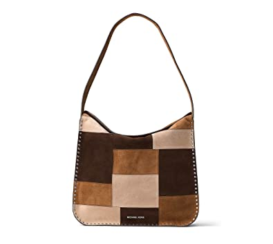 a3b443ab6719a Amazon.com  MICHAEL Michael Kors Womens Astor Leather Designer Hobo Handbag  Multi Large  Shoes