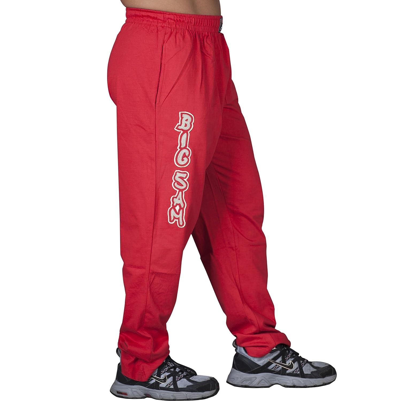 BIG SM EXTREME SPORTSWEAR Herren Bodyhose Jogginghose Sporthose Bodybuilding 829