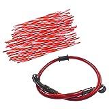 JRL Red Wheel Spoke Wraps Skins Coat Trim