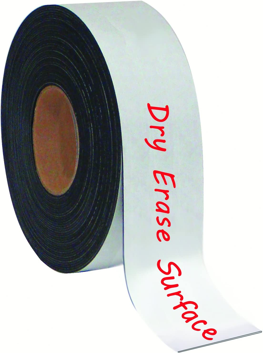 "MasterVision Tape Roll Magnetic Dry Erase, 2"" x 50' White"