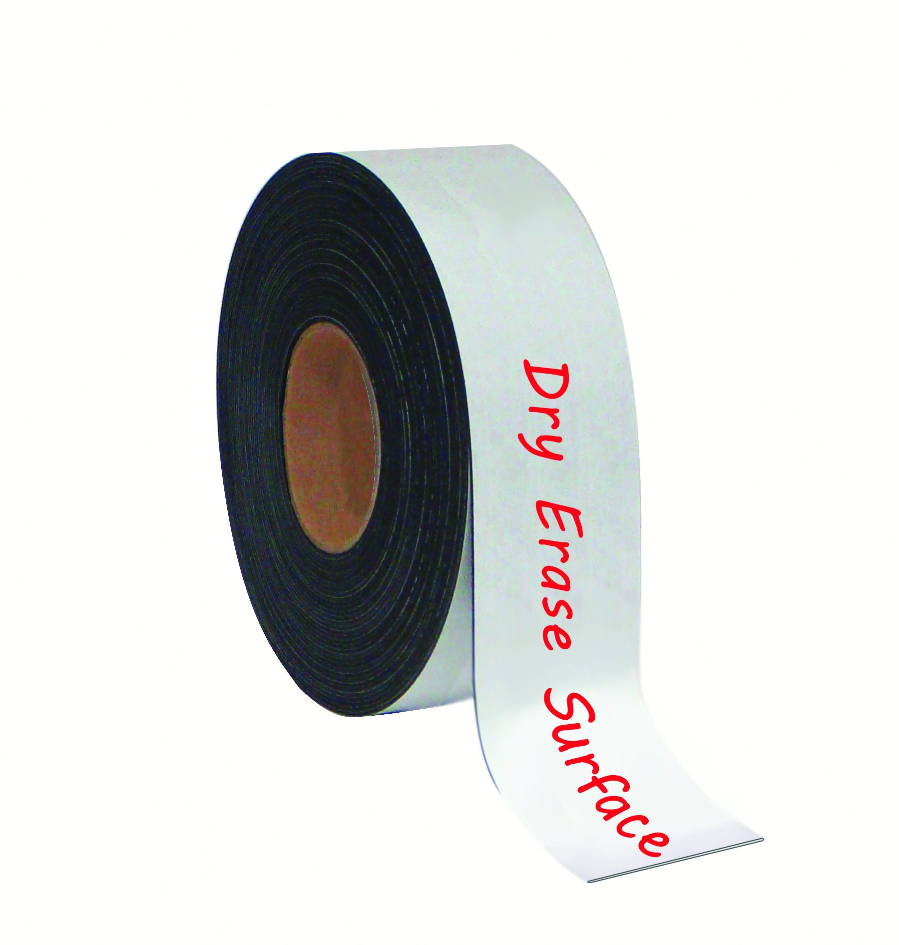 MasterVision Tape Roll Magnetic Dry Erase, 2'' x 50' White by MasterVision