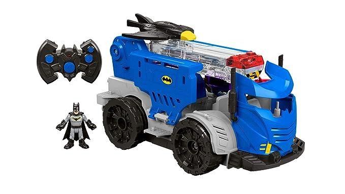 Imaginext Centro de Mando DC por Control Remoto DTM79: Amazon.es: Juguetes y juegos