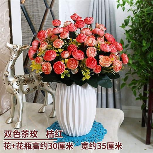 Xin Pang Flores Artificiales Joyas Decorativas Home Salón ...