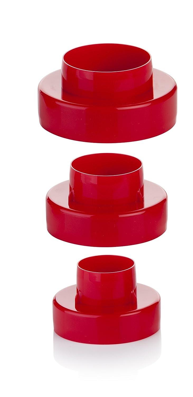 Tescoma Delicia - Cortapastas doble círculo, 6 tamaños T630860