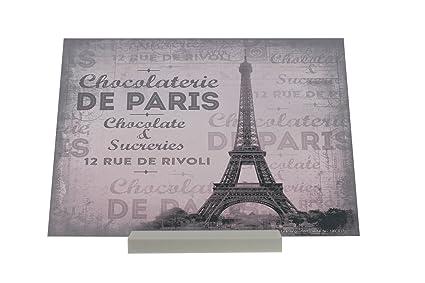 Soporte Fotografias Deco Ciudad Torre Eiffel París Letrero Decoración