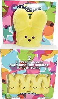 product image for Peeps Marshmallow Bunnies & Plush Bunny - Yellow