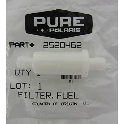 amazon com: polaris new oem atv fuel filter sportsman predator sawtooth  phoenix 50 90 200: automotive