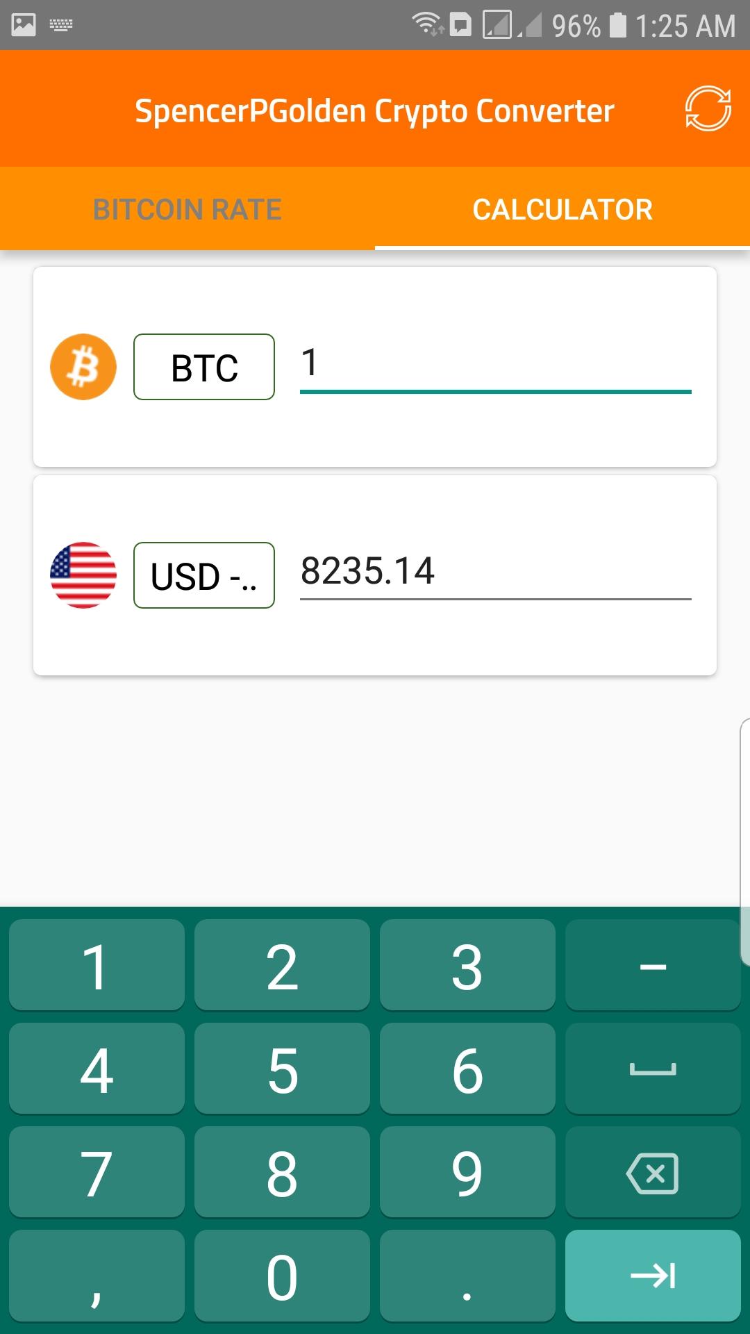 Spencer P Golden Crypto Converter: Amazon.com.br: Amazon