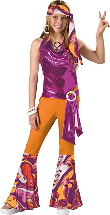 Vintage Style Children's Clothing: Girls, Boys, Baby, Toddler InCharacter Costumes Tween Kids Dancing Queen Costume $32.95 AT vintagedancer.com